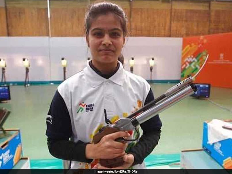 Manu Bhaker, Saurabh Chaudhary Win 10m Air Pistol Mixed Gold At Asian Airgun Championship