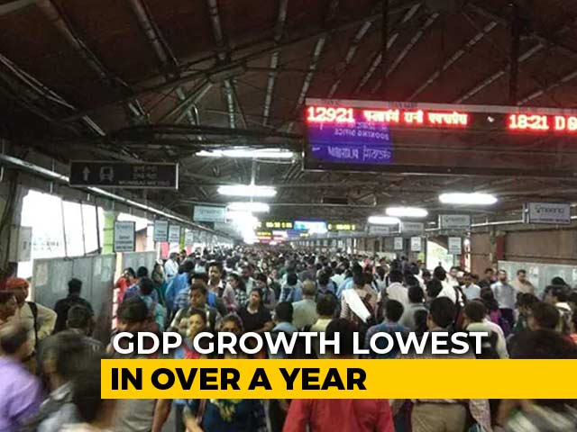 Video : GDP Growth At 6.6% In December Quarter, Slowest In Over A Year
