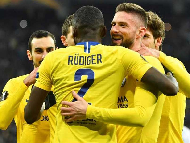 Chelsea, Arsenal Cruise Into Europa League Quarters