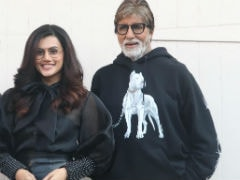 Taapsee Pannu On Her Equation With Amitabh Bachchan And Abhishek Bachchan