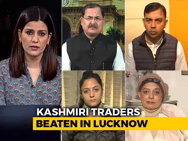 Video : Kashmiris Beaten By Right Wing Goons In Lucknow