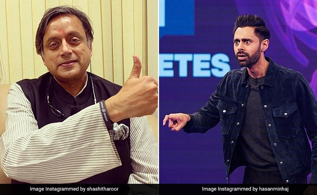 कॉमेडियन हसन मिनहाज ने शशि थरूर से पूछे ऐसे सवाल, कांग्रेस नेता के उड़ गए होश- देखें Video