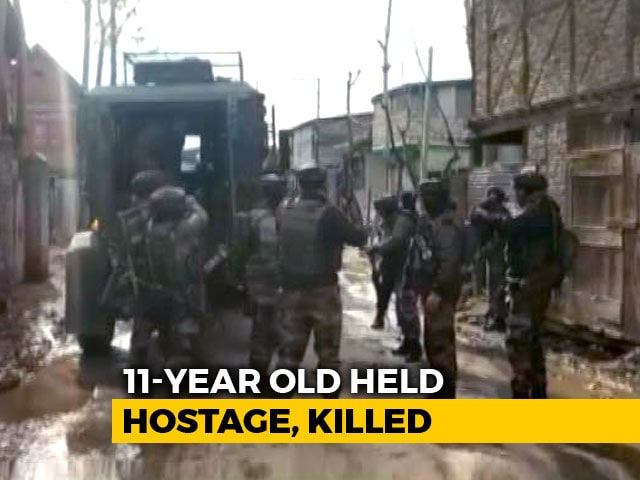 Video : 11-Year-Old Held Hostage Killed In J&K Encounter, 2 Terrorists Shot Dead