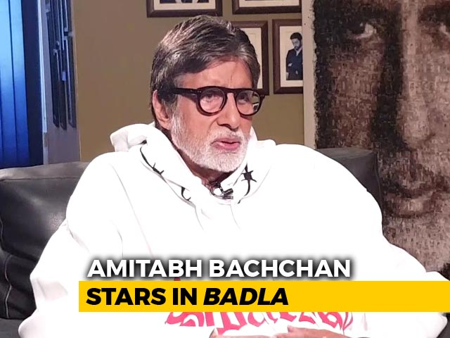 Amitabh Bachchan On Badla, Working With Young Actors, & More