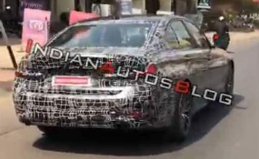 The new BMW 3-Series has been spotted being tested in India.