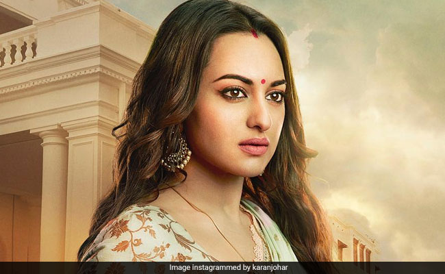 Kalank New Poster: Sonakshi Sinha 'Holds A World Of Emotions In Her Eyes'