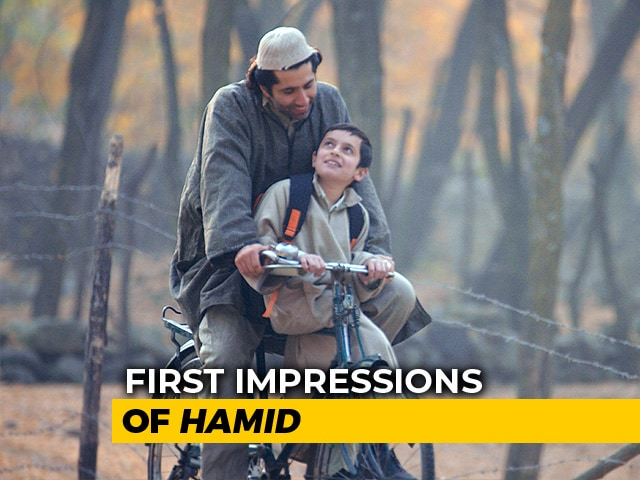 First Impressions Of Hamid