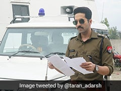 पुलिस ऑफिसर की वर्दी में दिखे आयुष्मान खुराना, 'Article 15' का फर्स्ट लुक हुआ रिलीज