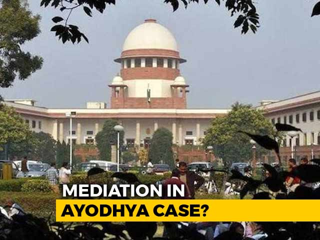 Video : Supreme Court Order On Mediation In Ayodhya Case Tomorrow