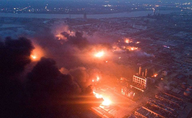 Dead, 640 Injured In Chemical Plant Explosion In China