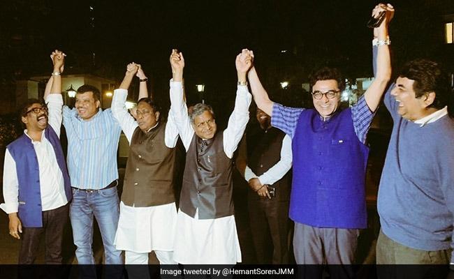 बिहार के बाद झारखंड में महागठबंधन: राहुल गांधी से मुलाकात के बाद हेमंत सोरेन का ऐलान- JMM, JVM और कांग्रेस मिलकर लड़ेंगे चुनाव