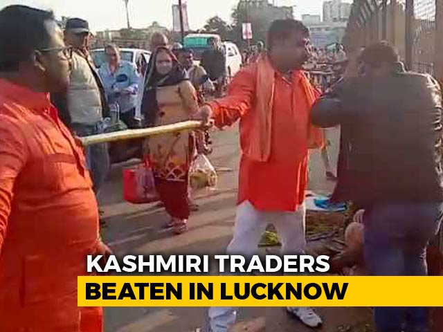 "Video : ""Called Terrorists, Asked For Aadhaar"": Kashmiri Men Thrashed In Lucknow"