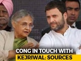 Video : In AAP-Congress Alliance Talks, A Vote Share Survey And An Opinion Poll