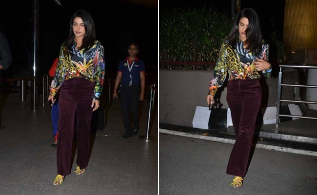 5 Snazzy Printed Shirts To Upgrade Your Look In A Jiffy Like Priyanka Chopra
