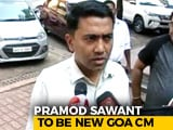 Video : BJP's Pramod Sawant To Be Goa Chief Minister, Meets Governor