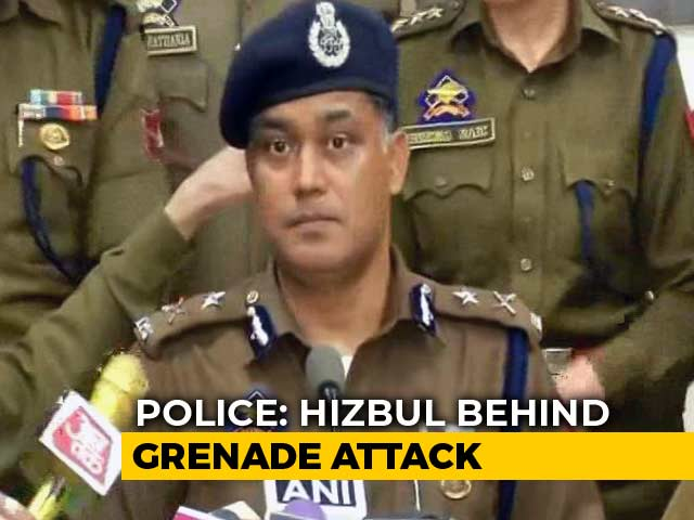Video : Teen Killed In Jammu Grenade Attack, Suspect From Hizbul Arrested: Police
