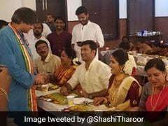 Shashi Tharoor Crashes Wedding, Blames It On Elections