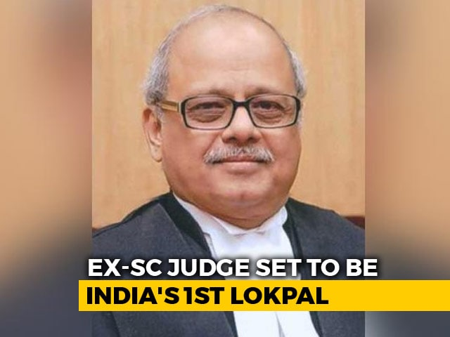 Video : Ex-Top Court Judge Justice PC Ghose Set To Be First Lokpal: Sources