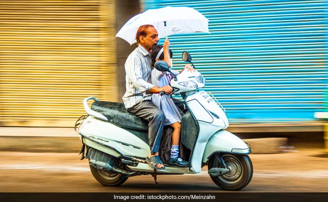 Light Rain In Some Parts Of Delhi, Respite From Humid Weather