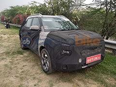 Hyundai QXI Subcompact SUV Spotted Testing