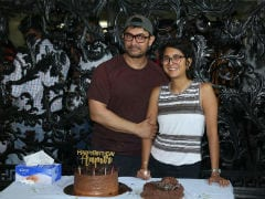 Aamir Khan Celebrates 54th Birthday With Wife Kiran Rao And Media. See Pics