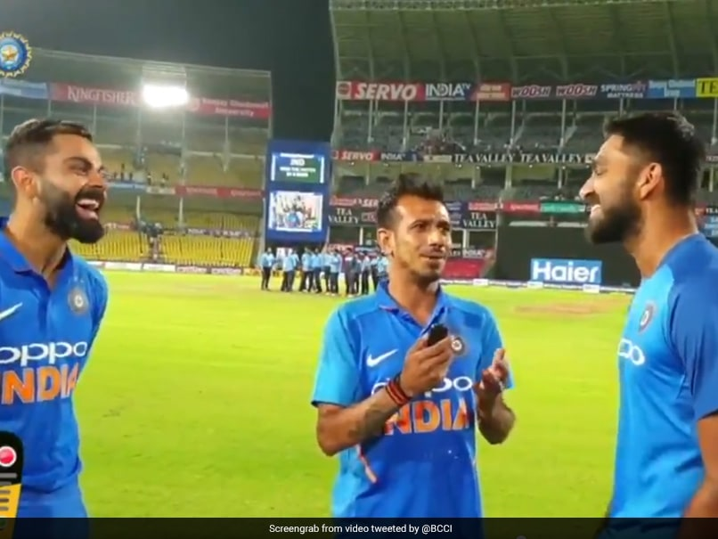 "Virat Kohli, Vijay Shankar Reveal How India Won Their 500th ODI On ""Chahal TV"" - Watch"