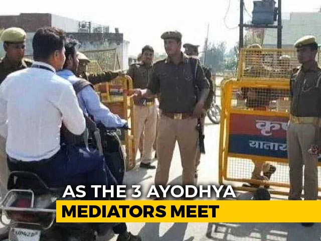 Video : As Ayodhya Mediation Begins, Many Hope For End To Decades-Old Dispute