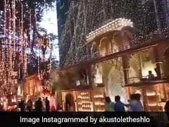 मुकेश अंबानी के बेटे आकाश की शादी से पहले वायरल हुआ ये VIDEO, महल की तरह सजा एंटीलिया