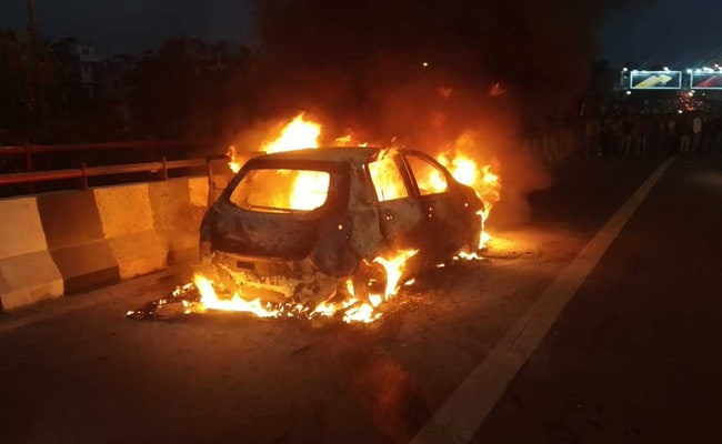 Family Of Delhi Woman Burnt Alive In Car Says Husband Killed Her