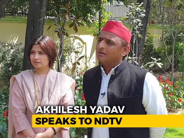 """Video : """"Time For Tie-Up Over, But Congress Should Help"""": Akhilesh Yadav To NDTV"""