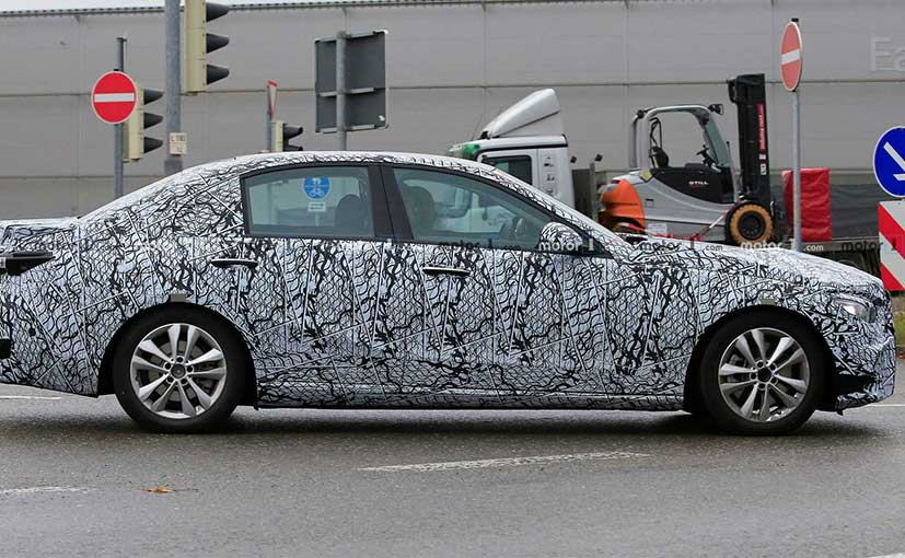 The Wheels On New Mercedes Benz C Cl Look A Size Larger Than Cur Model S