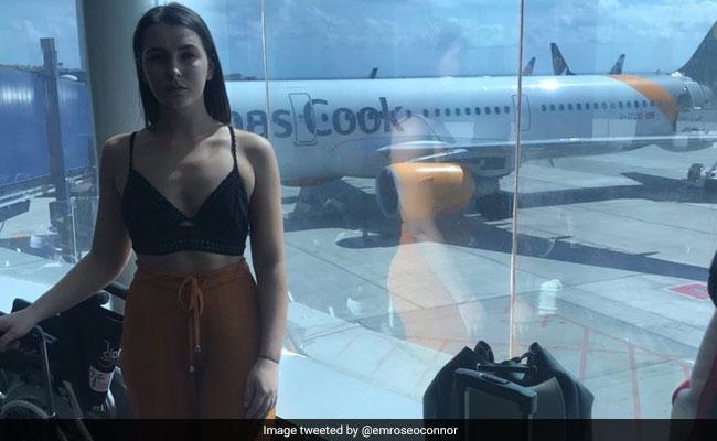 महिला यात्री के कपड़े देख भड़की एयरलाइन कपंनी, कहा - शरीर ढको या फिर विमान से उतर जाओ