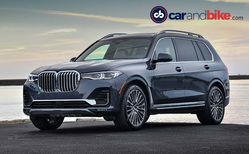 The BMW X7 xDrive 40i, that we drove, has been confirmed for India