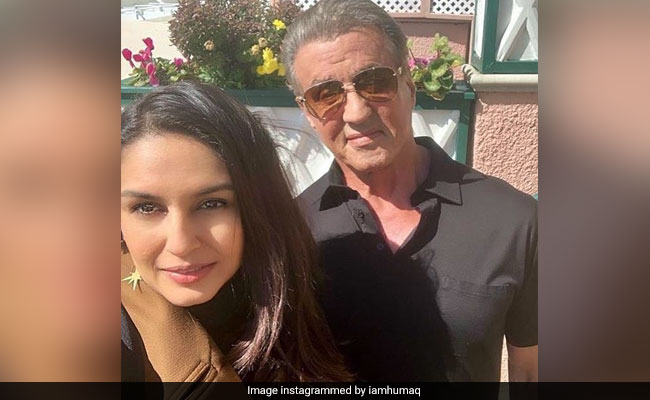 Huma Qureshi's Rendezvous With Rocky Star Sylvester Stallone