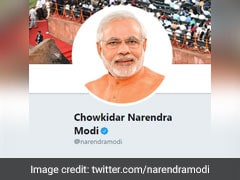 """BJP Seeks 10 Days To Reply To Notice Against Member Over """"<i>Chowkidar</i> """" Clip"""