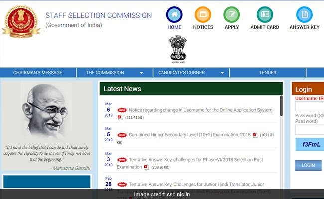 SSC CGL Admit Card 2019 For Western Region Released; Direct Link Here