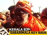 Video : Sabarimala Key Issue; Will Use In Campaigns: Kerala BJP To Poll Officer