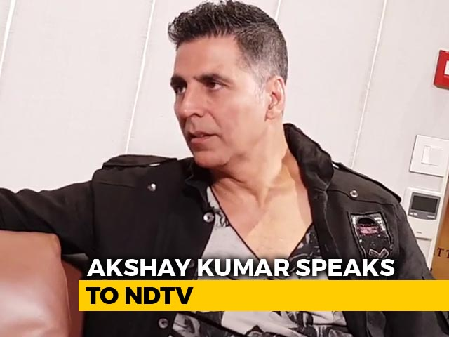 Video : Akshay Kumar On What It Takes To Convince Him For A Film