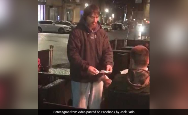 Homeless Man Asked For Cash. Watch What Kindhearted Stranger Did Next...
