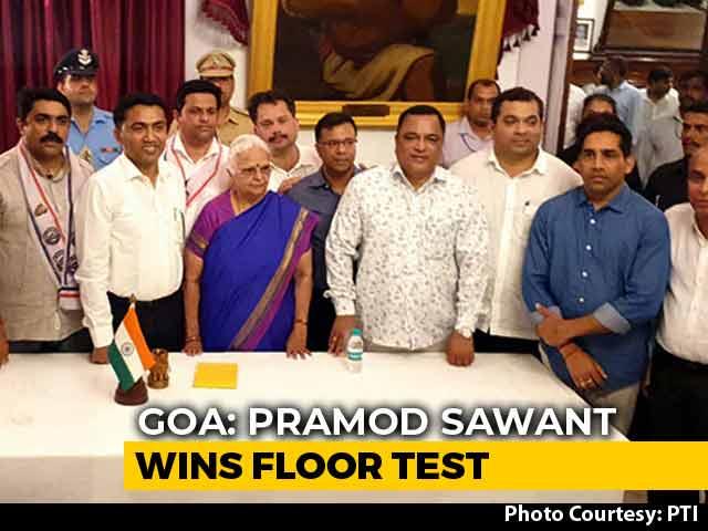 Video : BJP Sails Through Goa Floor Test After Allies' Hard Bargain