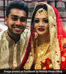 Bangladesh Cricketer Marries After Close Call In New Zealand Shooting