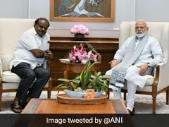 Karnataka Chief Minister Meets PM; Seeks Early Release Of Drought Relief