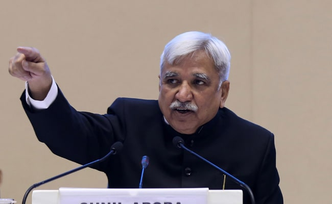 Poll Body May Revisit Penal Provision On Test Vote: Sunil Arora