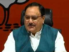 """Democracy Was Murdered By Congress"": JP Nadda On Emergency"