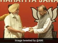 Suspended AAP Lawmaker Harinder Singh Khalsa Joins BJP