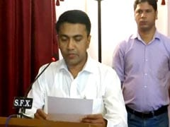 Pramod Sawant Sworn-In As Chief Minister In Late-Night Ceremony: Updates