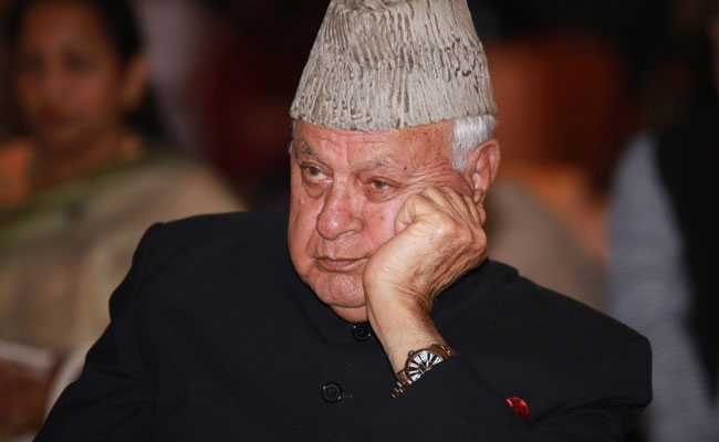 Farooq Abdullah's Detention Under Law Cleared By His Father