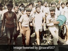 Arvind Kejriwal's Holi #Throwback Pic From IIT Days. Can You Spot Him?