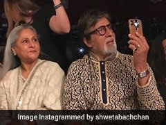 Shweta Or Amitabh Bachchan, Who Captioned Dad-Moment Pic Better?