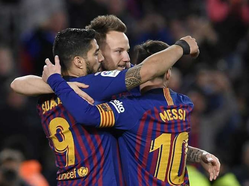 Lionel Messi, Luis Suarez Lead Barcelona To Victory Over Rayo Vallecano